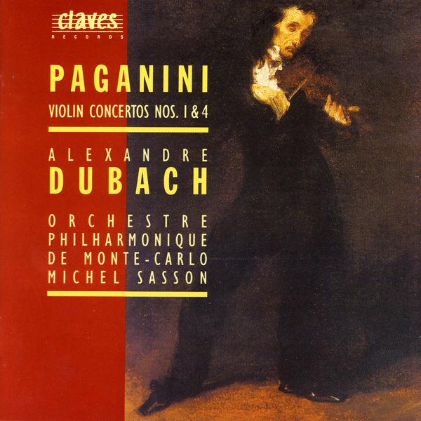 Alexandre Dubach Concertos pour violon (Volume 1)