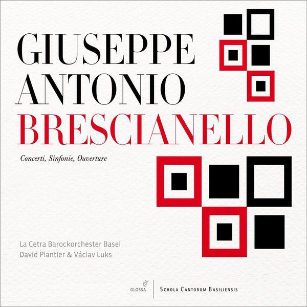 David Plantier - Brescianello : Concerti, Sinfonie, Ouverture