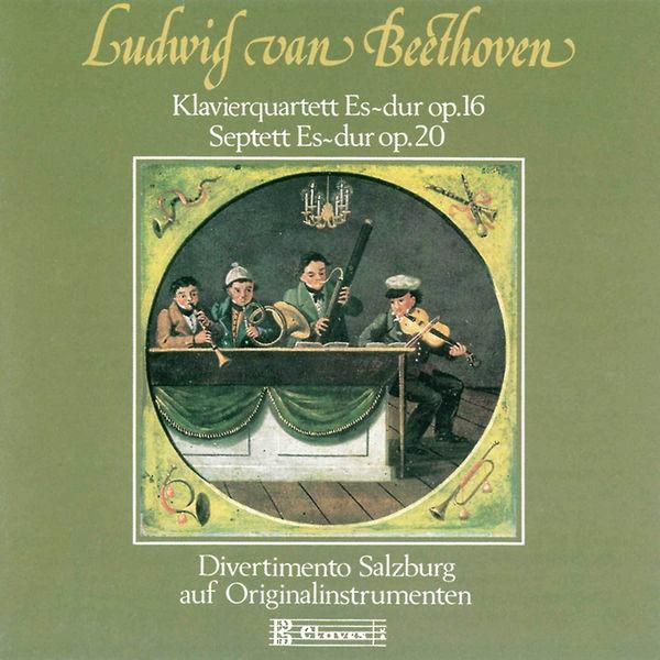 Divertimento Salzburg - Beethoven : Quartet for Piano and Strings, Op. 16 & Septet, Op. 20