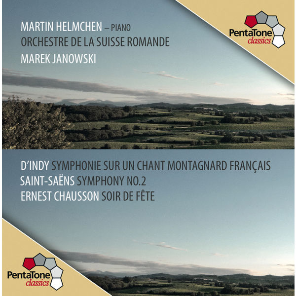 Martin Helmchen - D'Indy : Symphonie cévénole - Saint-Saëns : Symphonie No. 2 - Chausson : Soir de fête