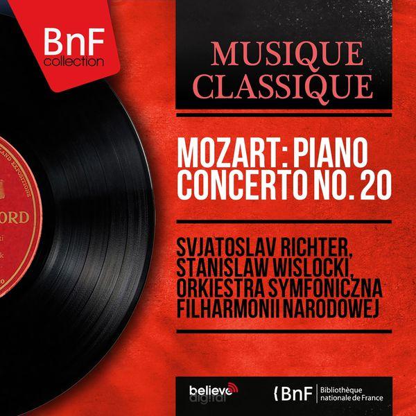 Sviatoslav Richter - Mozart: Piano Concerto No. 20 (Mono Version)