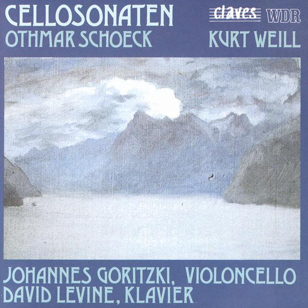 Johannes Goritzki - Sonates pour violoncelle