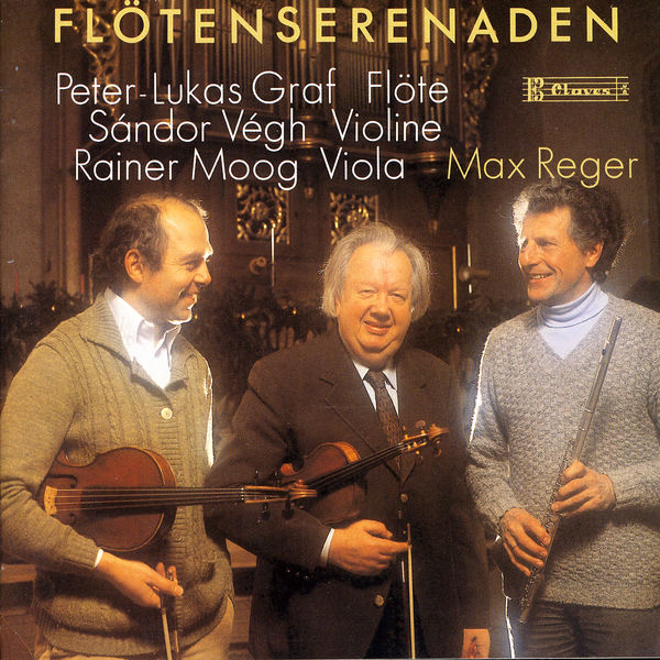 Peter-Lukas Graf - Les deux Sérénades pour flûte