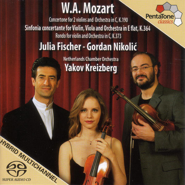 Julia Fischer - Mozart: Sinfonia Concertante, K. 364 / Concertone in C Major, K. 190 / Rondo in C Major, K. 373