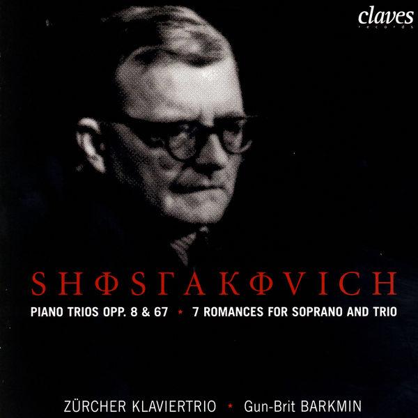 Gun-Brit Barkmin Trios pour piano op. 8 & 67 - 7 Romances