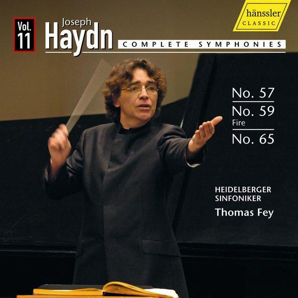 Thomas Fey - HAYDN, J.: Symphonies, Vol. 11 (Fey) - Nos. 57, 59, 65