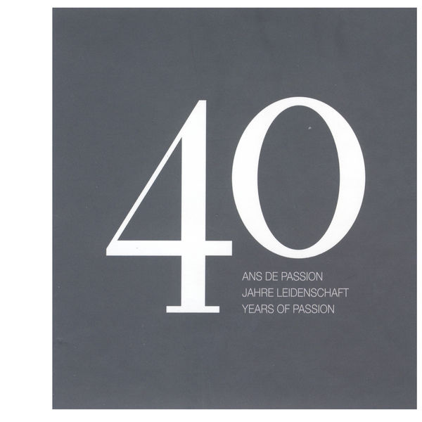 Various Artists - 40 years of passion