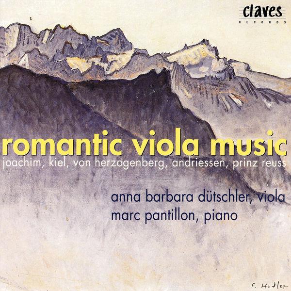 Joseph Joachim - Musique romantique pour alto