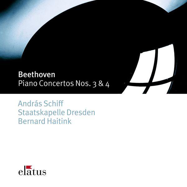 András Schiff, Bernard Haitink & Staatskapelle Dresden - Beethoven : Piano Concertos Nos 3 & 4  -  Elatus