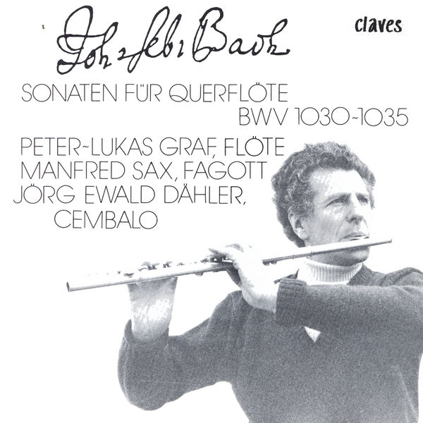 Johann Sebastian Bach - Johann Sebastian Bach: Sonaten Für Querflöte, BWV 1030-1035