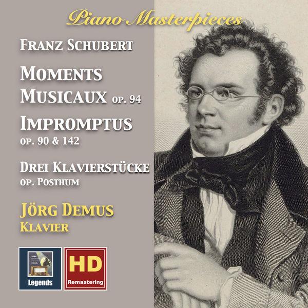 Jörg Demus - Piano Masterpieces: Franz Schubert – Moments musicaux & Impromptus