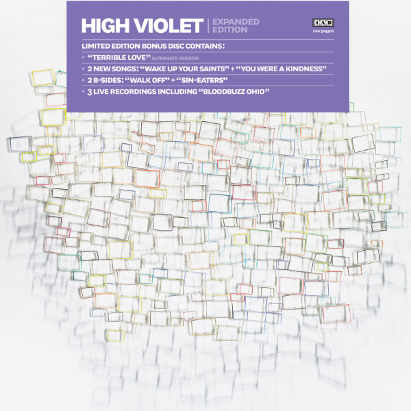 Popsike. Com the national high violet purple colored vinyl 2 lp.