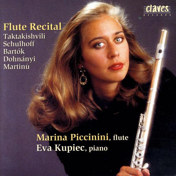 Otar Taktakishvili - Flute Recital:  Eastern Europe 20th Century Music