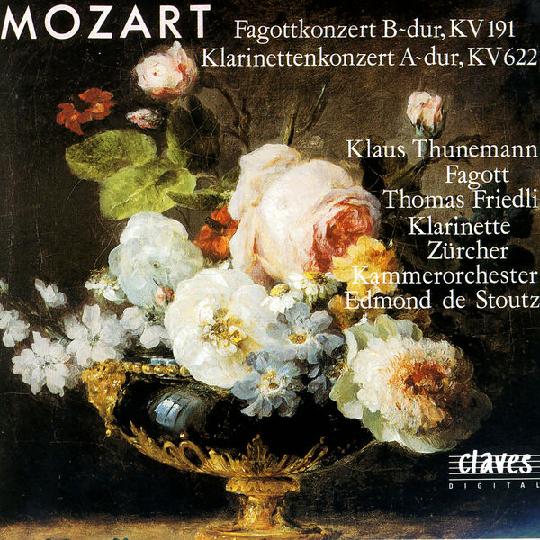 Klaus Thunemann - Mozart: Bassoon & Clarinet Concertos