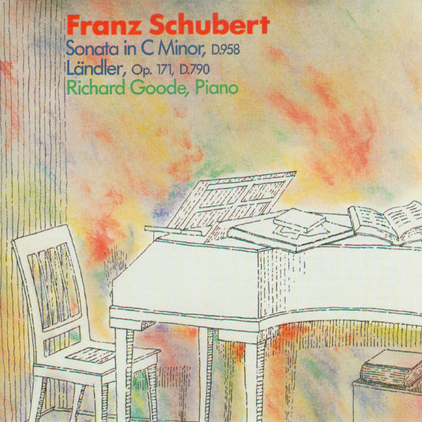 Richard Goode - Schubert: Sonata In C Minor, D.958 / Landler, Op. 171, D.790