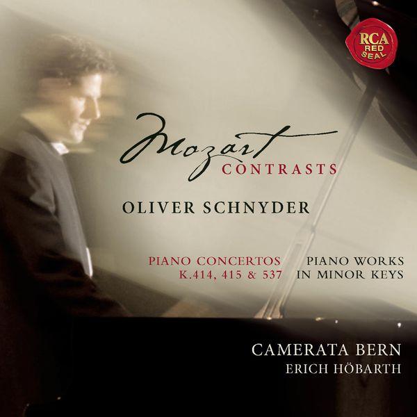 Oliver Schnyder - Mozart: Piano Concertos 12, 13, 26 + Works In Minor For Solo Piano