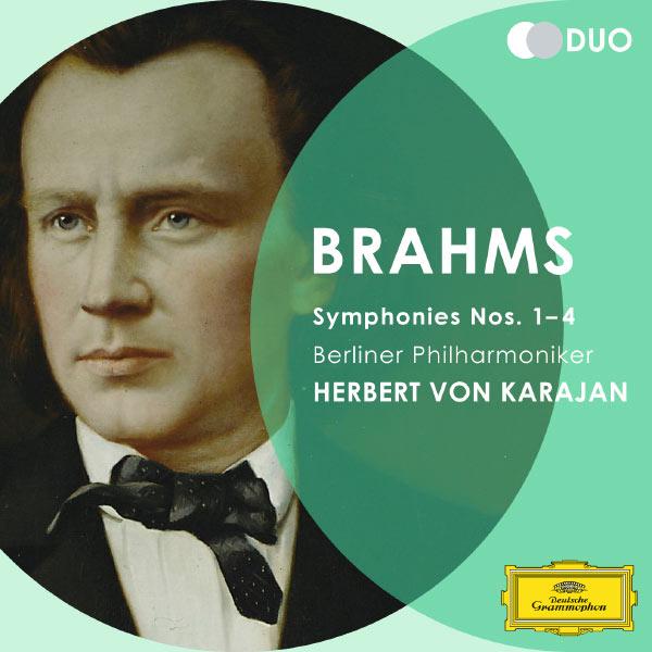 Berliner Philharmoniker - Brahms: Symphonies Nos.1 - 4