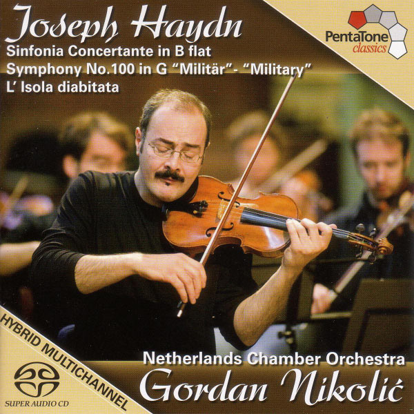 """Netherlands Chamber Orchestra - Haydn: Sinfonia Concertante in B-Flat Major / Symphony No. 100, """"Military"""""""