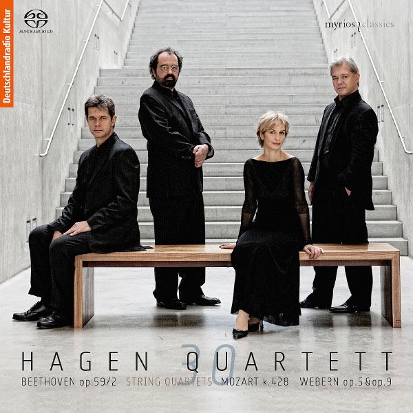 Hagen Quartett - Beethoven - Mozart - Webern