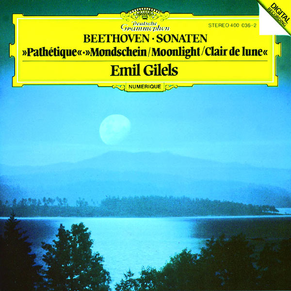 "Emil Gilels - Beethoven: Piano Sonatas Nos.8 ""Pathétique"", 13 & 14 ""Moonlight"""