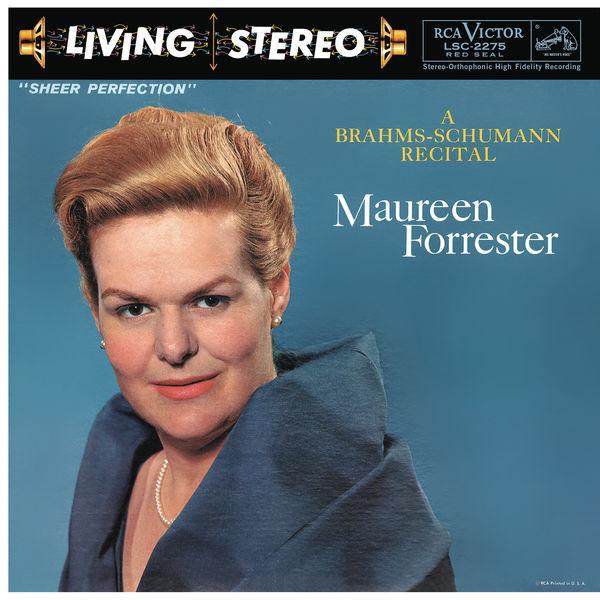Maureen Forrester - Maureen Forrester - A Brahms-Schumann Recital