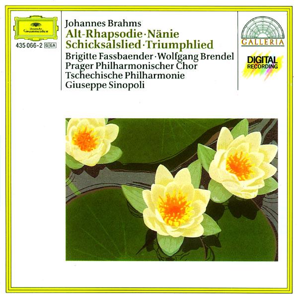 Giuseppe Sinopoli - Brahms : Altrhapsodie, Schicksalslied, Triumphlied