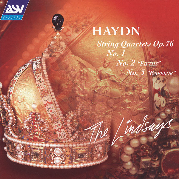 The Lindsays|Haydn: String Quartets, Op.76, Nos. 1, 2 & 3