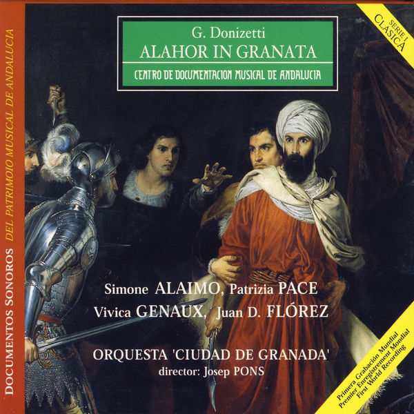 Gaetano Donizetti - Donizetti: Alahor In Granata
