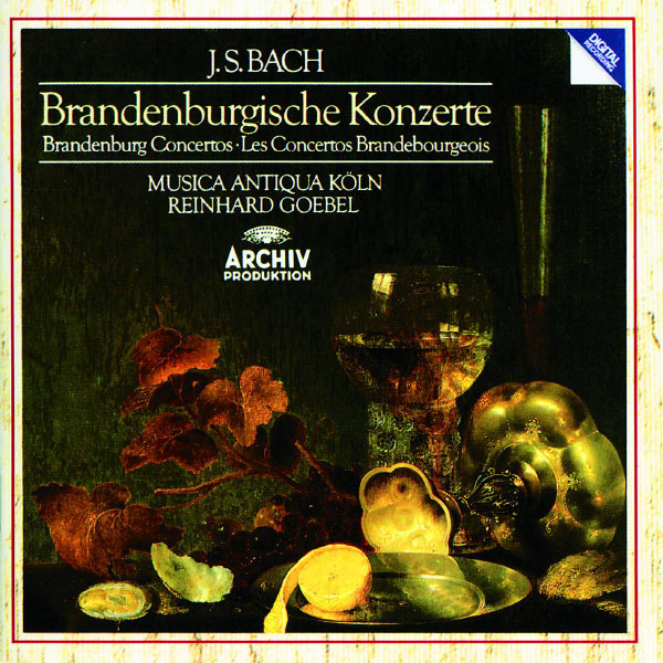 Musica Antiqua Köln  - Bach, J.S.: Brandenburg Concertos