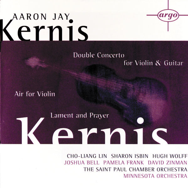 Album Kernis: Air for Violin, Double Concerto for Violin