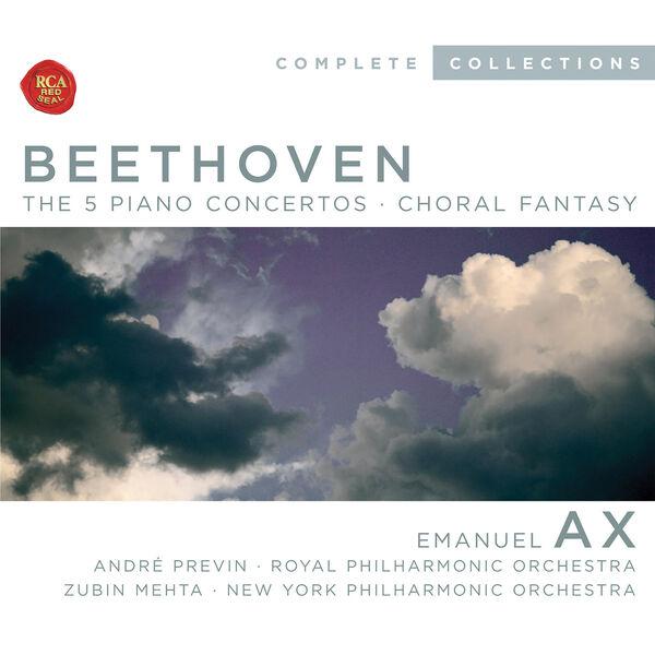Emanuel Ax - Beethoven, Piano Concertos 1-5; Choral Fantasia