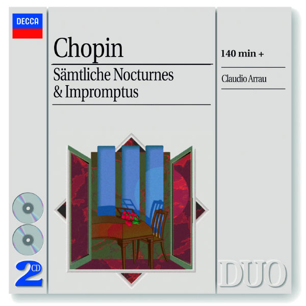 Claudio Arrau - Chopin: The Complete Nocturnes/The Complete Impromptus
