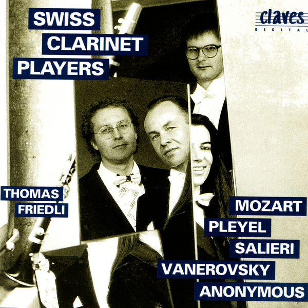 Anonyme - Classical Works for Clarinet Ensemble