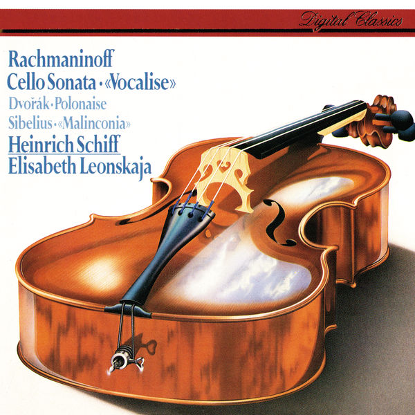 Heinrich Schiff - Rachmaninov: Cello Sonata; Vocalise / Sibelius: Malinconia / Dvorák: Polonaise