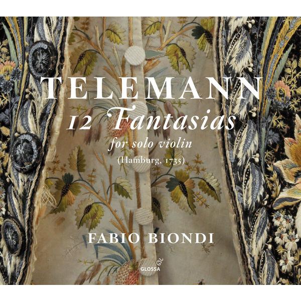 Fabio Biondi - Telemann: 12 Fantasias for Solo Violin, TWV 40