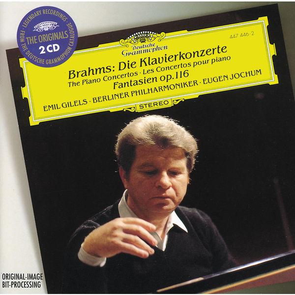 Emil Gilels - Brahms : The Piano Concertos - Fantasias Op.116