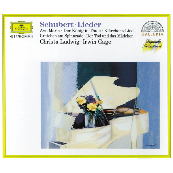 Christa Ludwig - Schubert: Lieder