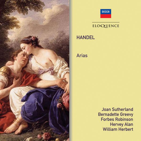 Dame Joan Sutherland - Handel: Arias