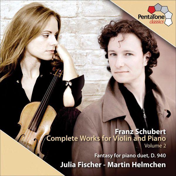 Julia Fischer - Schubert : Complete Works for Violin and Piano