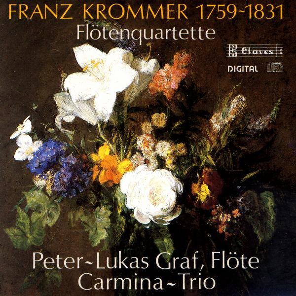 Peter-Lukas Graf - Trois quatuors pour flûte