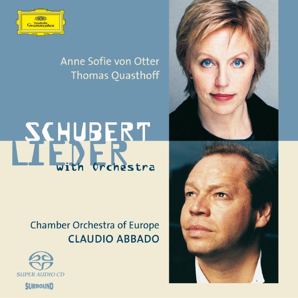 Anne Sofie von Otter - Schubert: Orchestrated Songs