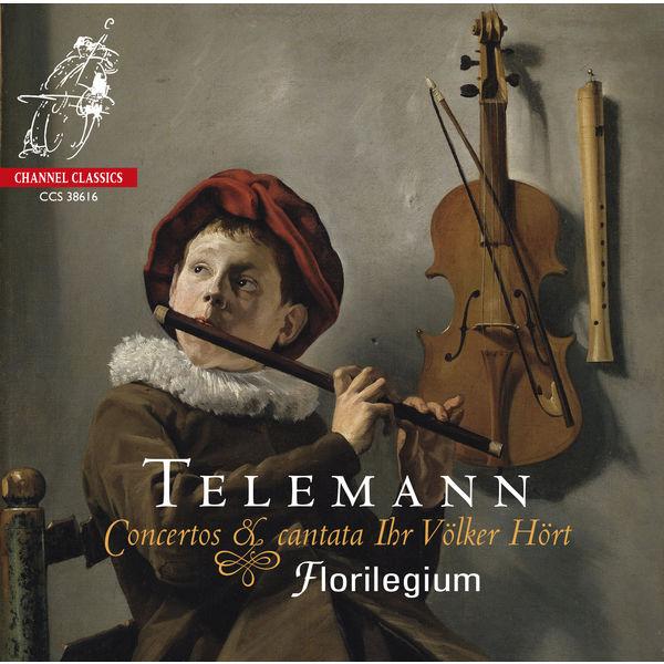 Various Artists - Telemann: Concertos & cantata Ihr Völker Hört