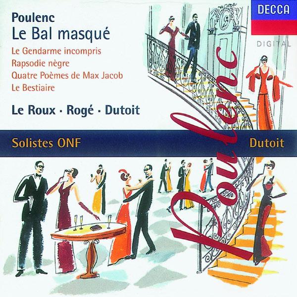 Pascal Rogé - Poulenc: Le bal masqué/Chamber Works