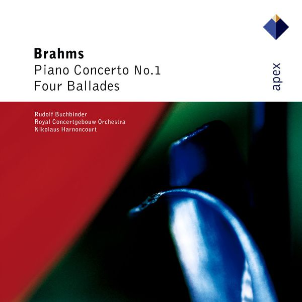 Nikolaus Harnoncourt - Brahms : Piano Concerto No.1 & 4 Ballades  -  Apex