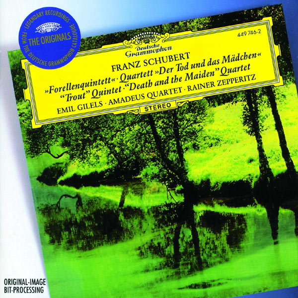 """Emil Gilels - Schubert: Piano Quintet """"The Trout""""; String Quartet """"Death and the Maiden"""""""