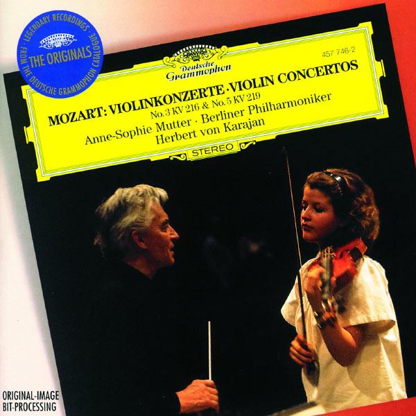 Anne-Sophie Mutter - Mozart: Violin Concerto Nos.3 K.216 & 5 K.219