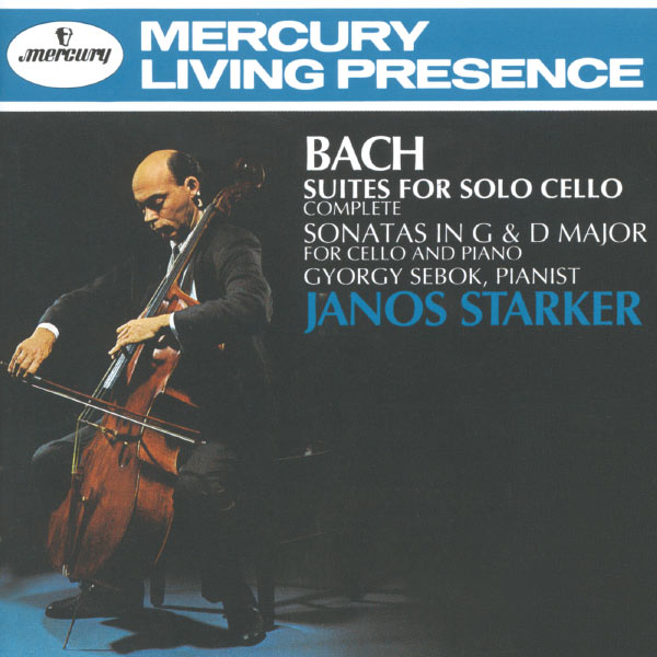 Janos Starker - Bach, J.S.: Suites for Solo Cello/2 Cello Sonatas
