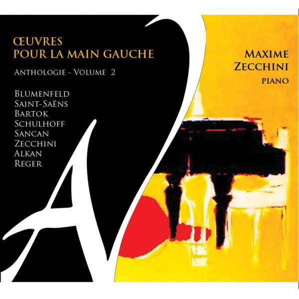 Maxime Zecchini - Œuvres pour la main gauche - Anthologie, Vol. 2