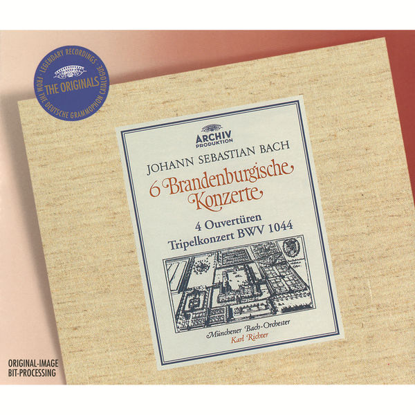 Orchestre -Bach de Munich - Bach: 6 Brandenburg Concertos; 4 Ouvertures; Tripel Concerto BWV 1044