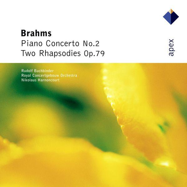 Nikolaus Harnoncourt - Brahms : Piano Concerto No.2 & 2 Rhapsodies  -  Apex